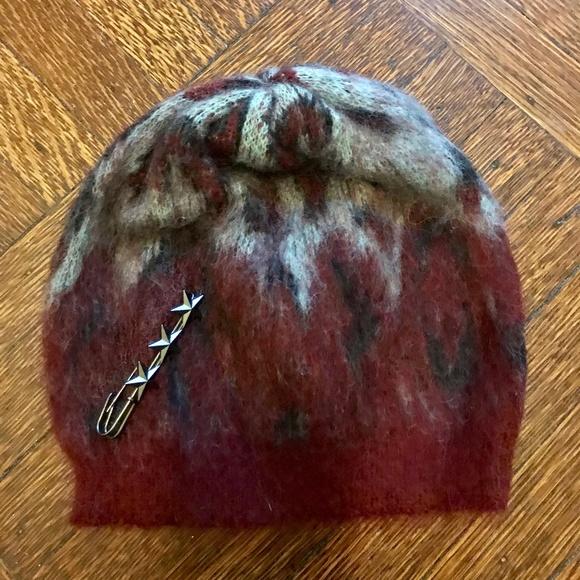 Scotch   Soda Wool Leopard Print Beanie Hat bfa9b9abcd4